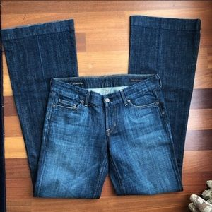 Citizens of Humanity flare jeans Size:29 Inseam:34